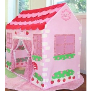 new girls children pink princess play wendy house outdoor. Black Bedroom Furniture Sets. Home Design Ideas
