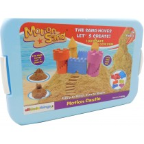 Magic Motion Sand Castle Theme 1 KG Sand With Play tray and Moulds