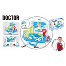 3 in 1 Children's Pretend Play Doctors Backpack  Set