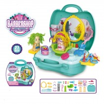 Children's Roll Playing barbershop Hair Salon Dough set