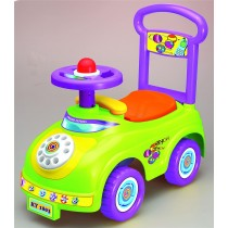 Push Along Sit On Ride On Car Quality Plastic Toy Telephone Theme