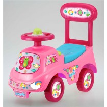 Push Along Sit On Ride On Car Quality Walker Toy Telephone Theme