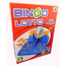 New Family Large Bingo Lotto Game Revolving Machine With 90 Numbers & 48 Cards