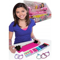 Wrist Twists and wear Bracelet Maker kit with 14 Colour Silk Twine