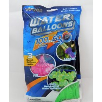 111 Fast Fill Magic Water Balloons Self Tying Bunch Balloon Bombs Summer Toys