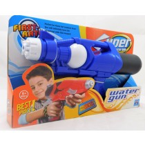 "Super Soaker 14"" Action Water Gun Pistol Outdoor Beach Garden Toy Blaster In Blue"