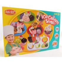 Ice Cream Shop  Play Dough Plasticine  Clay Set With Chef's outfit and accessories
