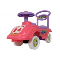 Push Along Smart Sit On Ride On Car Children With Under Seat Storage Pink Purple