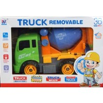 Children Toy Construction Lorry Truck Set Cement Mixer Constructions With Tools