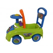 Push Along Ride On Children Toy Walker Car Theme Gears With Under Seat Storage