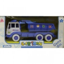 Children Kids Tot Tipping Construction Toy Large Truck With Blue Colour New