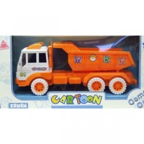 Children Kids Tot Tipping Construction Toy Large Truck With Orange Colour New