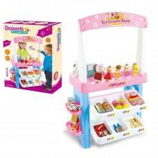 Toy 47 Piece Desserts Ice Cream parlour Fun Kids Ice Cream Shop Play set