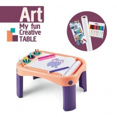 Children's Educational Art Drawing Desk PINK