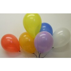 """Birthday Party Occasions 50 Multi Colour 9"""" Helium High Quality Latex Balloons"""
